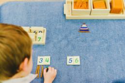 Montessori golden beads
