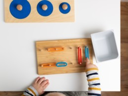Montessori activity for toddlers